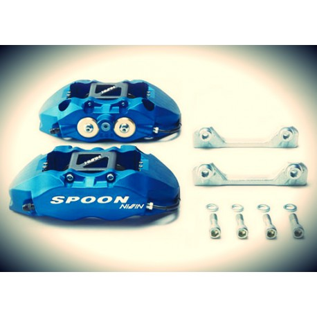 SPOON Twin-Block, 4 Kolben Bremssattel Set Honda EG EK DB DC2