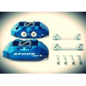 SPOON Twin-Block, 4 Kolben Bremssattel Set Honda EG EK DB DC2 S2000