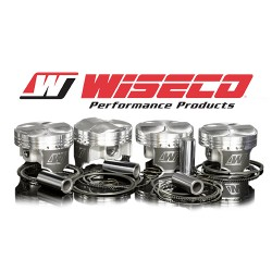 Wiseco-Piston Kit 87,0mm - 8,5:1 - 9,0:1 Compression - For stroker crank 100mm - 1400HD with 5,72mm wall pins