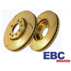 EBC Turbo Groove Brake Discs Front