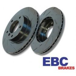 EBC Black Dash Brake Discs Front