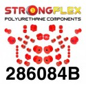 Full polyurethane bushing kit for front and rear axle