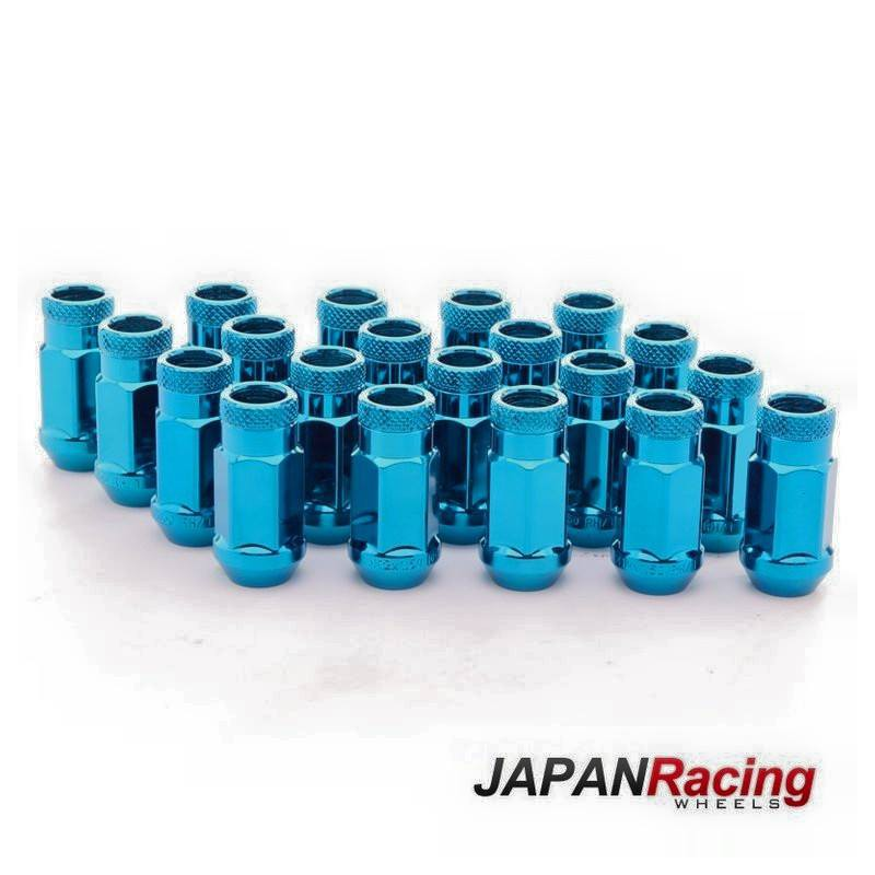 JAPAN RACING 45mm STAHL LUG NUTS M12 x 1.5 Radmuttern NEOCHROM jdm