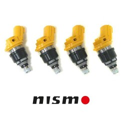 4 x 555cc Nismo Side Feed Fuel Injectors SR20DET Nissan S13 S14 S15