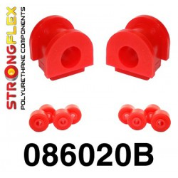 Bush kit Front stabilizer and coupling rod