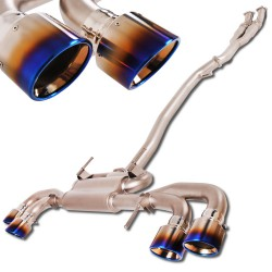 Nissan R35 GTR Downpipe-Back Exhaust System