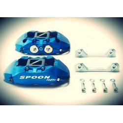 SPOON Twin-Block, 4 Kolben Bremssattel Set Honda EG EK DB DC2