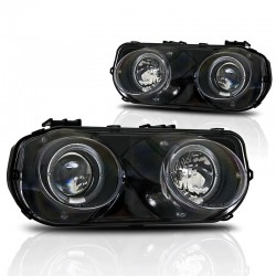 Integra DC2 94-97 Black Headlights LHD