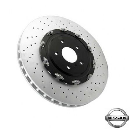 Nissan GT-R 09-11 R35 OEM Front Brake Rotor