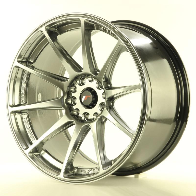 18 x 9.5 ET30 5 x 100//5 x 120 Alloy Rims Competition Japan Racing JR11 White
