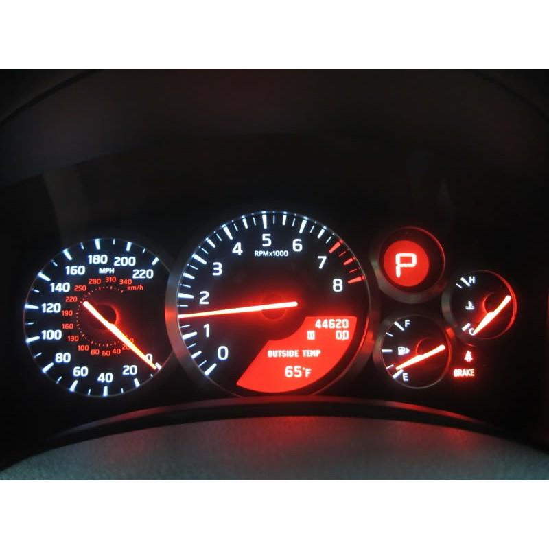 Red LED Dash Cluster Light Upgrade Kit for Nissan Stagea C34 1996-2001