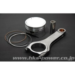 HKS VR38DETT Forged Piston Kit 95.5mm & H-Beam Rod Set