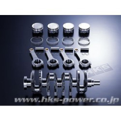 HKS 4B11 Forged Piston Kit 86.5mm for 2.2L Stroker Kit Only!