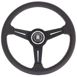 Nardi Classic Steering Wheel - Grey Stitching - 330mm