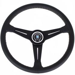 Nardi Classic Steering Wheel - Grey Stitching - 390mm