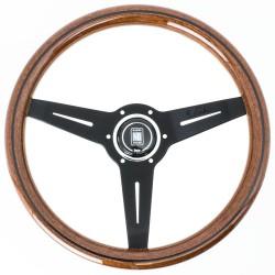 Nardi Classic Steering Wheel - Wood with Black Spokes