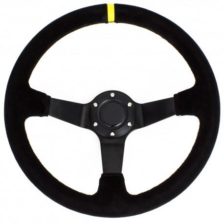 Driftworks Basics - 350mm Suede steering wheel