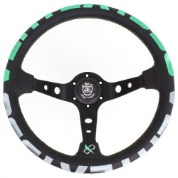 T&E Vertex JDM Lenkrad - 1996 Green or Pink