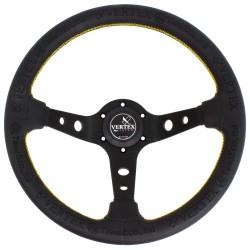T&E Vertex JDM Steering Wheel - King of Vertex Leather