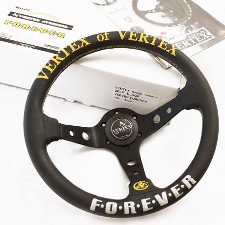 T&E Vertex JDM Steering Wheel - Vertex Forever