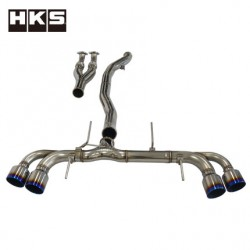 HKS Racing Muffler for Nissan GT-R R35 VR38DETT