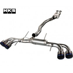 HKS Racing Muffler V2 R35 Nissan GT-R Silenced 1000+ HP