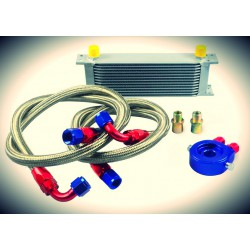 Universal Oil Cooler Kit AN10 13 to 30 Row