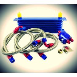 Universal Ölkühler & Relocation Kit AN10 7 bis 15 Reihe