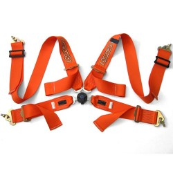 "Orange Driftworks Ultimate 6 point 3"" FIA harness"