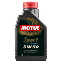 Motul Sport 5W50 Ester-Basis 5Liter Engine Oil