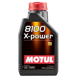 Motul 8100 X-POWER 10W-60 Engine Oil
