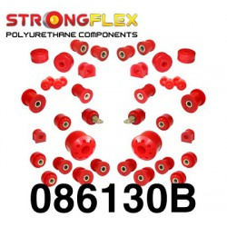 Polyurethane bushing kit for front and rear