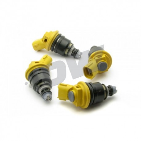 DeatschWerks 950cc Set of 4 Side Feed Injectors Nissan G20/SR20/240sx SR20DET/KA24DE 91-98