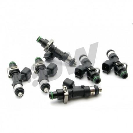 Deatschwerks 1000cc Injector set Supra Aristo 2JZ JZA80 11-14mm top feed conversion
