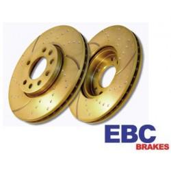 EBC Turbo Groove Bremsscheiben Vorne